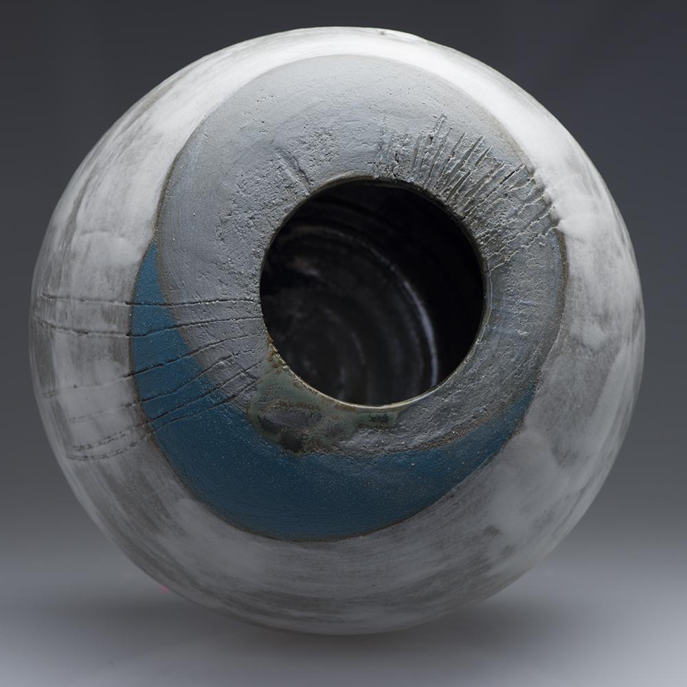 Wabi Sabi Ceramics Sphere Blue